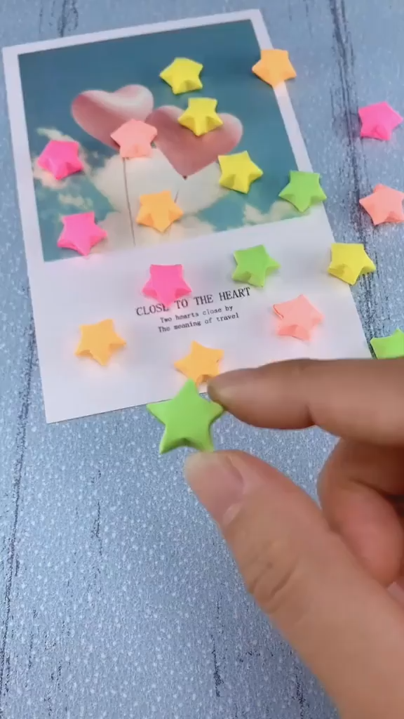 How to fold a little star out of paper? -   diy Presents for children