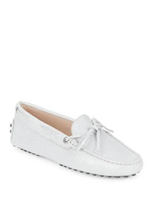 08b2396d677 TOD S Lace-Up Leather Moccasins.  tods  shoes  flats