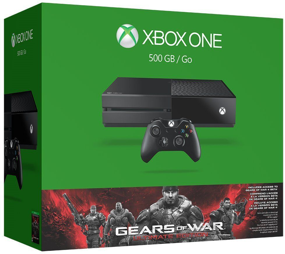 Xbox One 500gb Console With Kinect Xbox One Bundle Xbox One Console Xbox One Gears of war ultimate edition xbox
