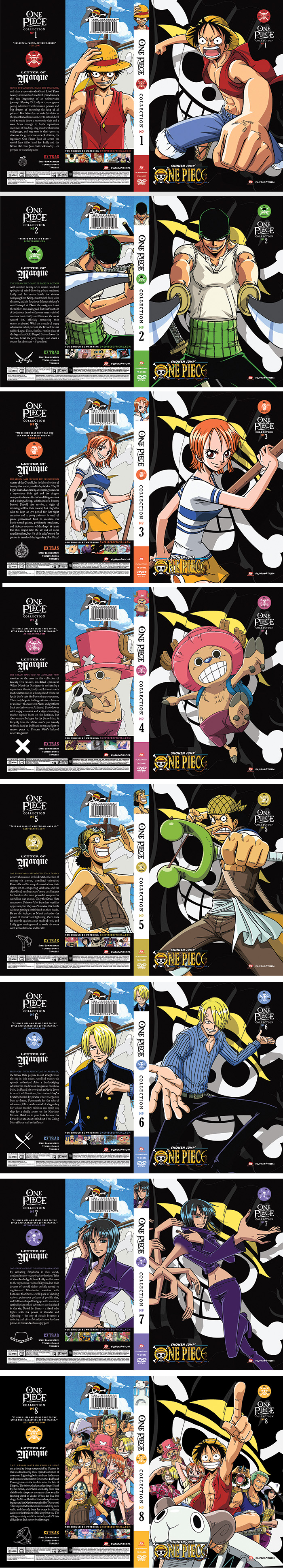 One Piece Collection *Buying some of these pretty soon!! :D