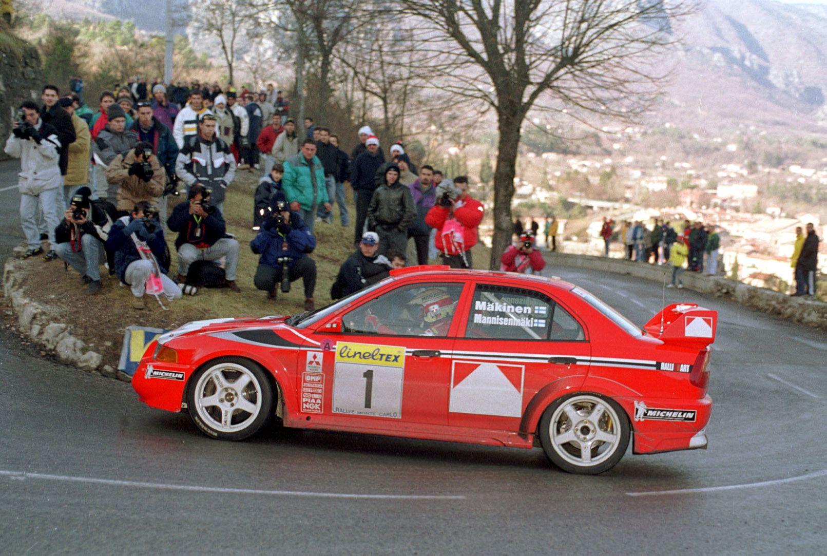 Tommy Makinen Mitsubishi WRC  4 volte campione del mondo rally