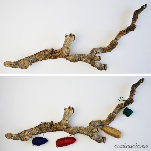 How to create a diy necklace hanger from a giant cane root or driftwood. No sewing or manual skills needed! www.cucicucicoo.com