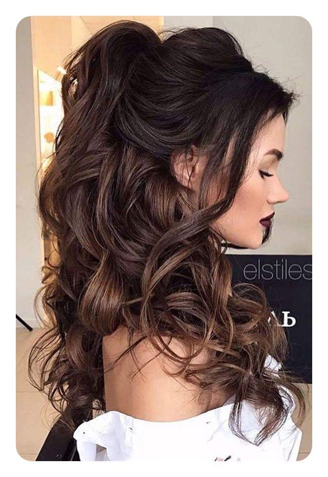 71 Peinados De Dama De Honor Unicos Para El Gran Dia 71 Dama De Dia El G En 2020 Peinados Elegantes Peinados Para Cabello Largo