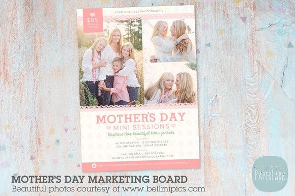 im004 mother s day marketing board flyer templates 8 00 flyer