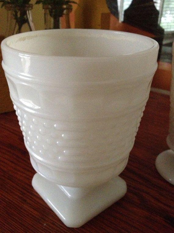 Napco Milk glass 1180 compote candy dish by FarmFreshTreasures, $8.00