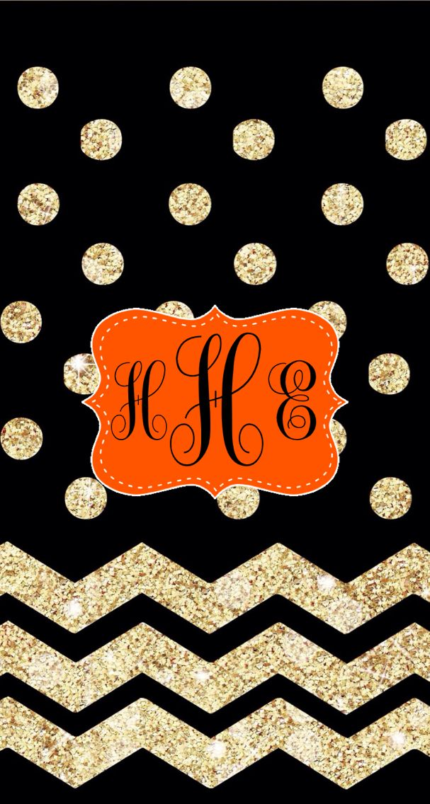 monogram halloween iphone wallpaper fall halloween