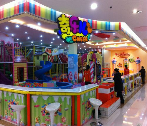 Where To Buy Cafe Kid Furniture: Candy Land Indoor Playground System
