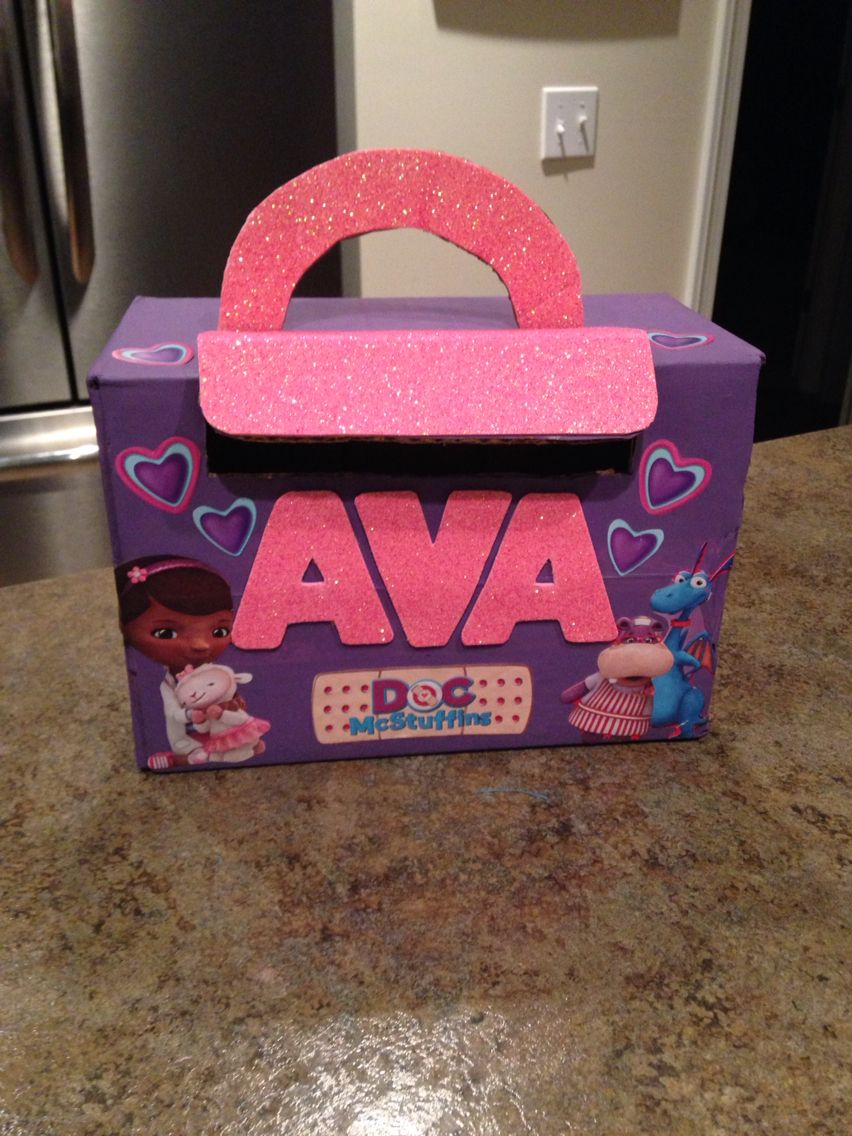 cardboard box paint glitter and stickers find this pin and more on cute valentines day - Cute Valentines Day Boxes