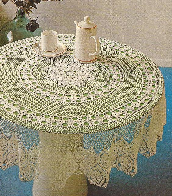 Pin de monica inze en manteles e individuales - Manteles mesas grandes ...