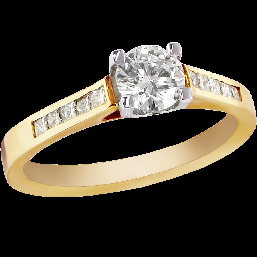 Gold Ring Diamond Png Image Purple Diamond Gold Diamond Rings Diamond Rings