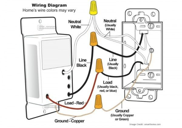 Single Pole Dimmer Switch Wiring