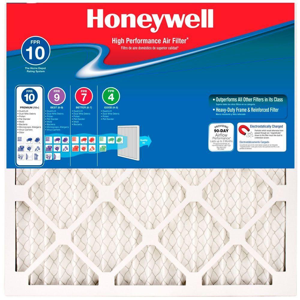 Honeywell 14 in. x 30 in. x 1 in. Elite Allergen Pleated