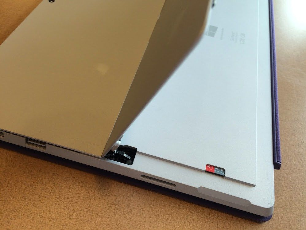 micro sd card slot on surface pro 3 | Directions | Surface