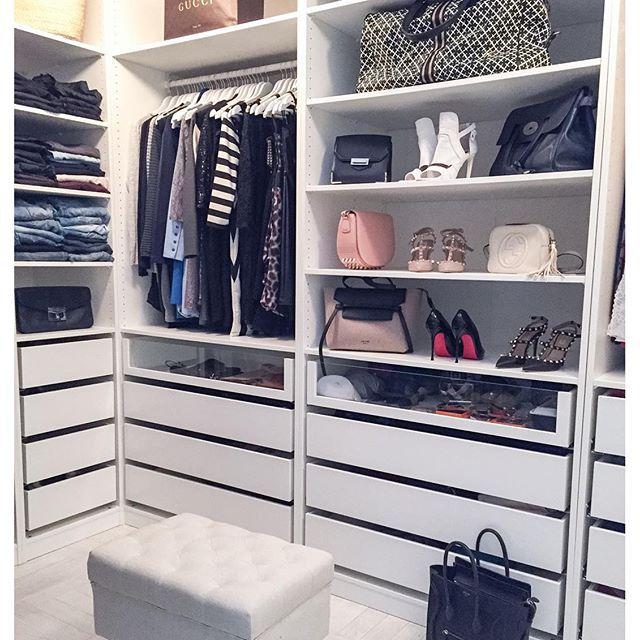 Pin von Heidi / Kuistin kautta auf HOME: Walk in closet ...