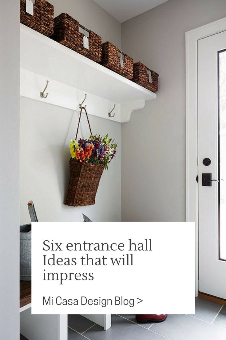 Does Your Entrance Hall Have Big Decor With Flair Maybe It Should Mudroom Decor Mudroom Paint Color Mudroom Paint