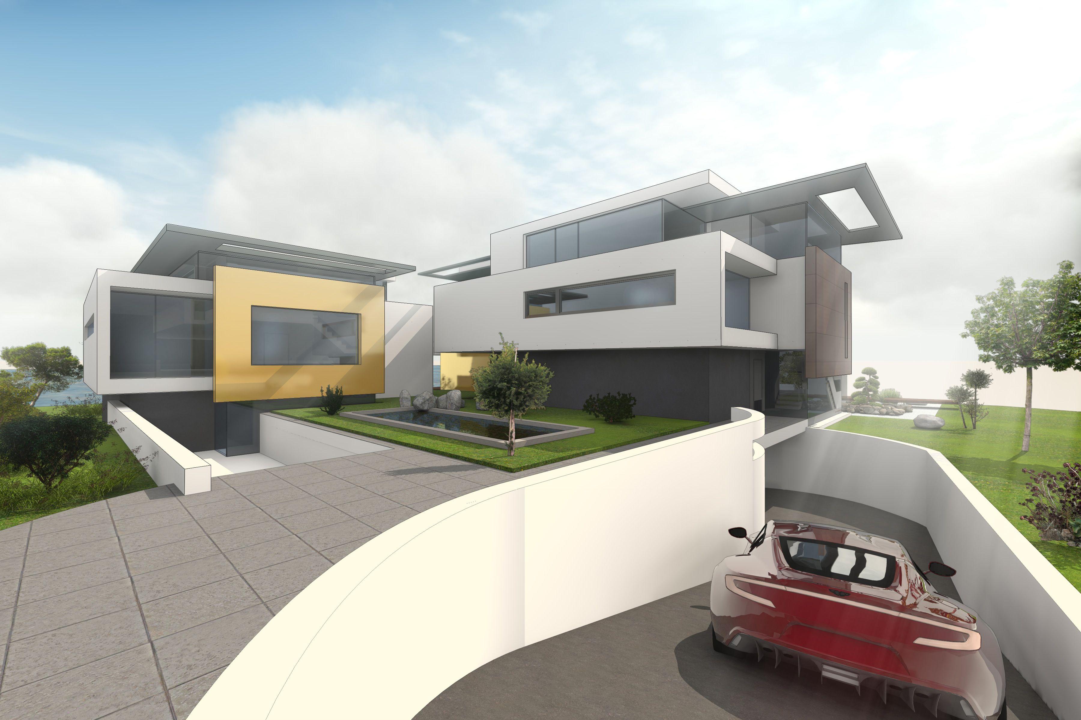 Moderne Mehrfamilienhäuser Bilder moderne mehrfamilienhäuser bauen mit jeweils 4 wohnungen und