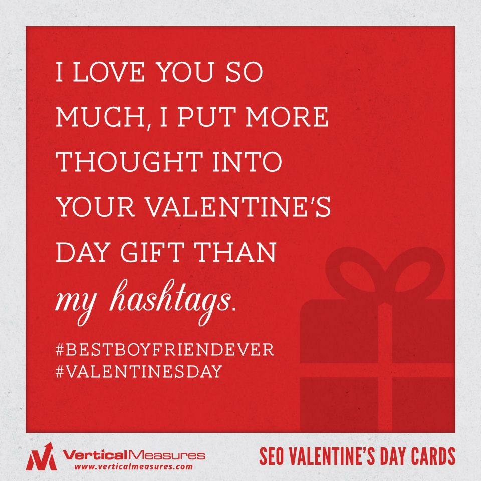 Funny Valentine's Day hashtags Valentine day cards