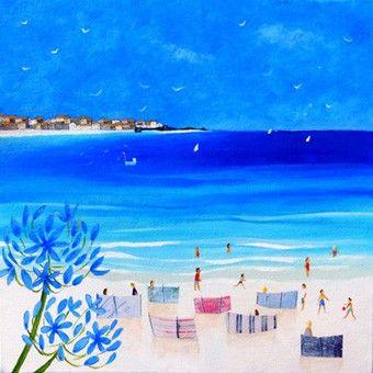Beside the Waves www.juliacrossland.co.uk Illustration