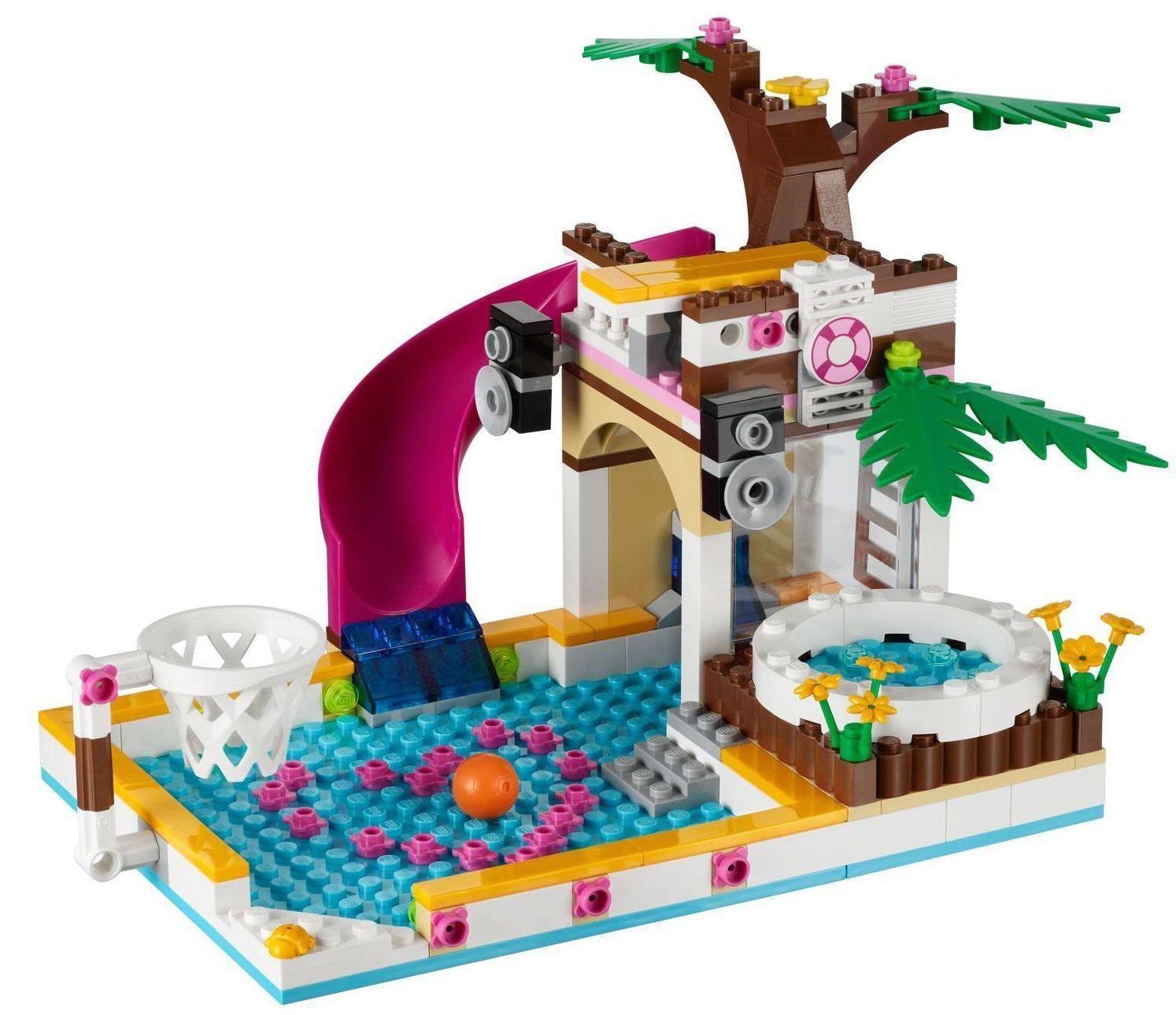Lego Heartlake City Pool Heartlake City Pool Ibrickcity 4 Lego