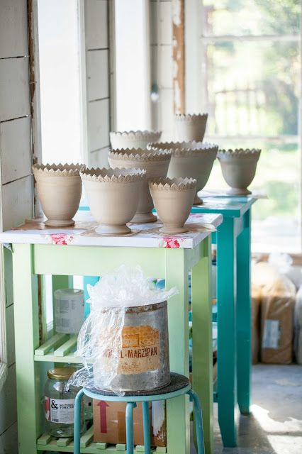 Flower pots Ceramic