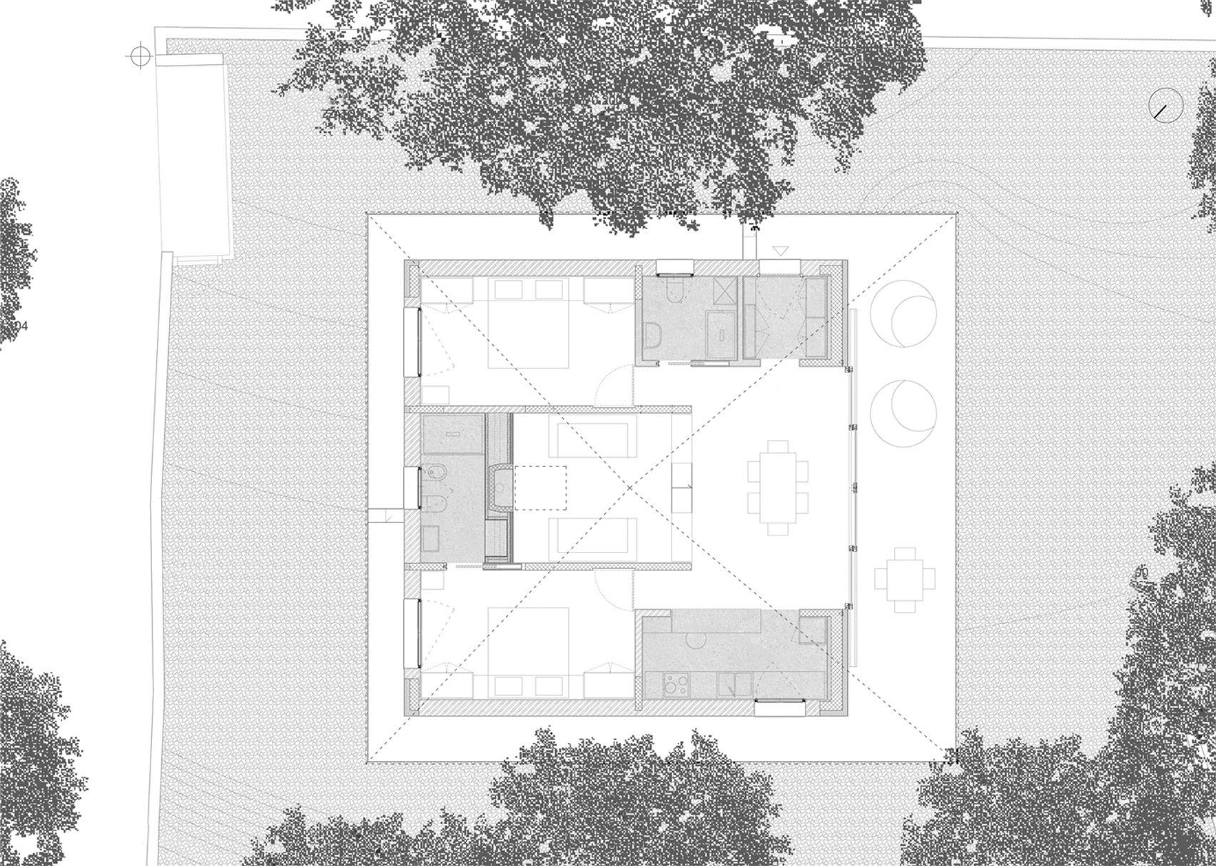 Lorenzo Guzzini Simple Home In Italian Alps Floorplan