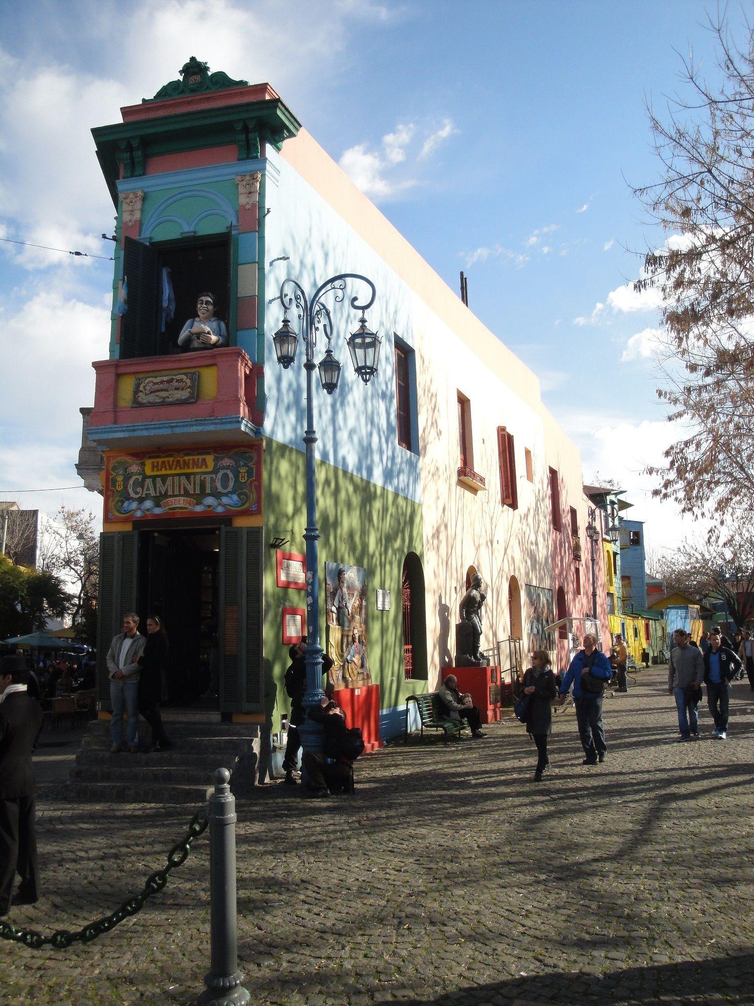 Caminito Buenos Aires.