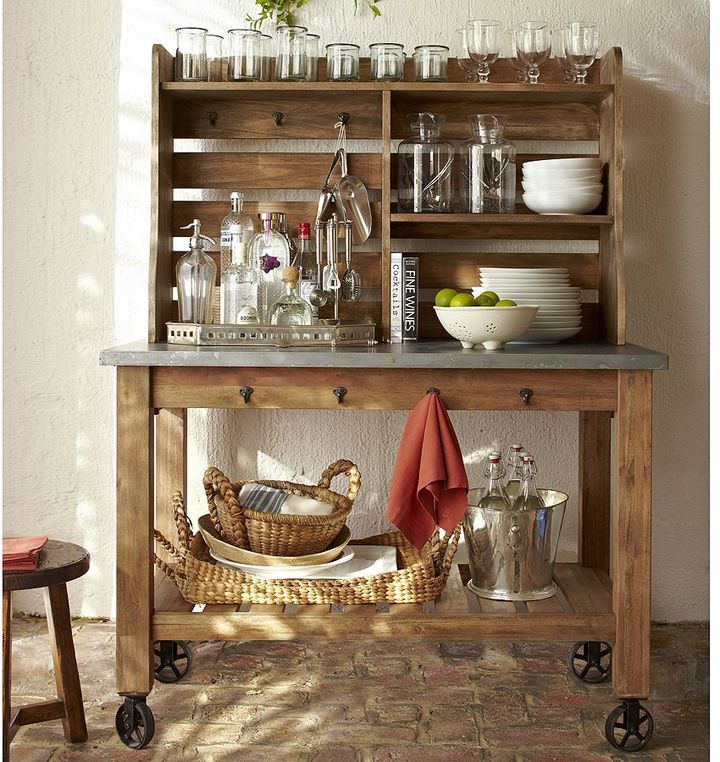 Pottery Barn Potting Bench Baker S Rack For My Kitchen With