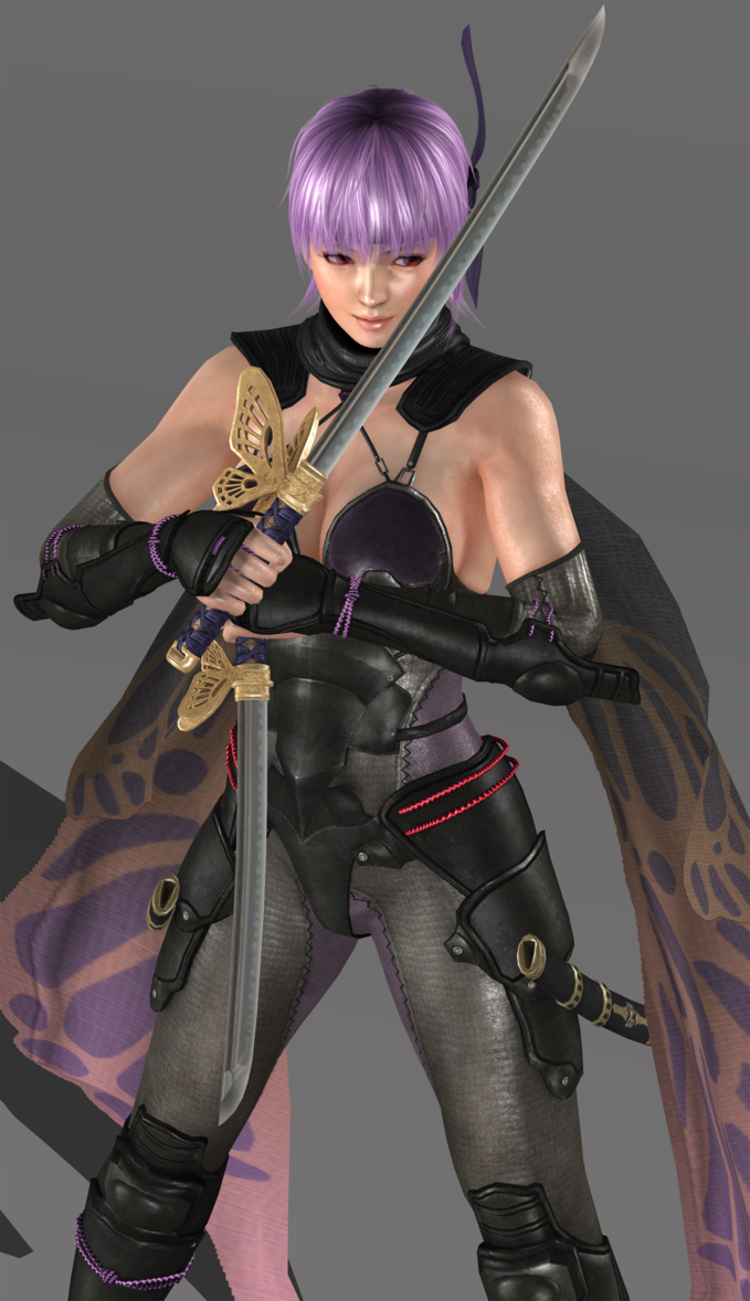 Ayane Ninja Gaiden 3 Razor S Edge Render By Takebon999 Deviantart Com On Deviantart Deviantart Com