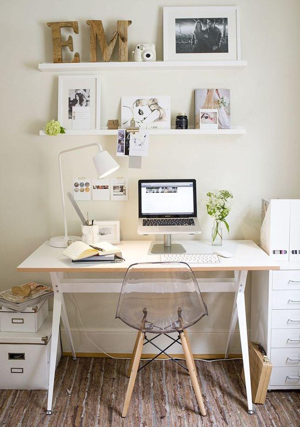 - 48 Cool Office Desk Decoration Ideas Home Office Decor, Interior