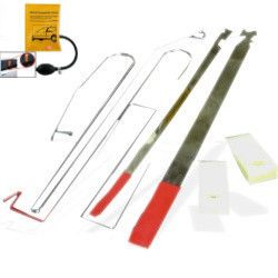 Lock Out Kit For Cars And Trucks Slim Jim Set With Air Wedge And