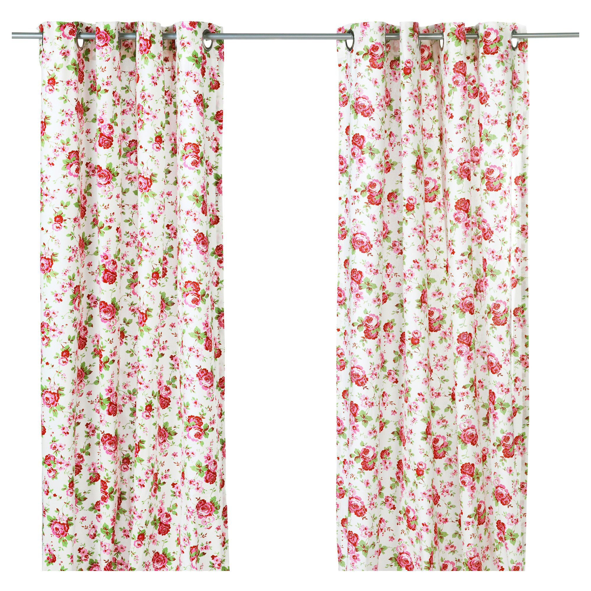 ROSALI Curtains, 1 Pair - IKEA