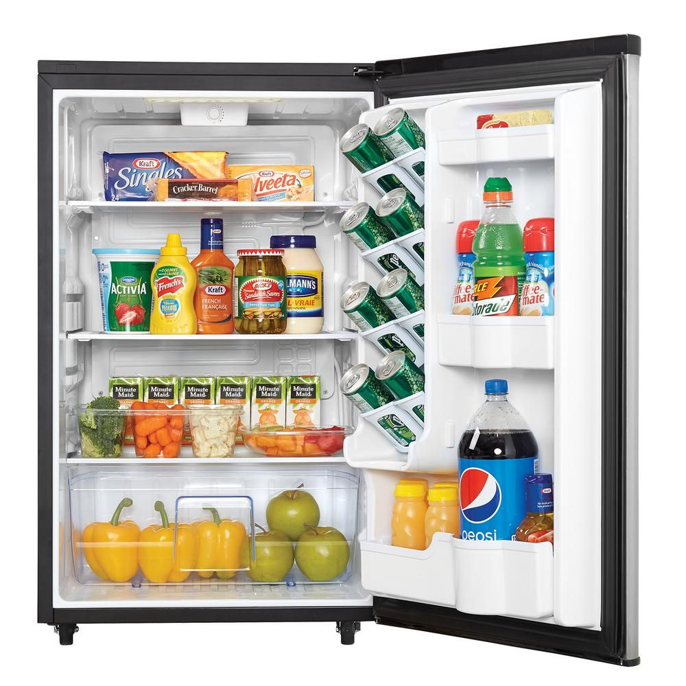 Danby 4 4 Cu Ft Outdoor Refrigerator In Stainless Steel Dar044a6bsldbo The Home Depot Outdoor Refrigerator All Refrigerator Mini Fridge