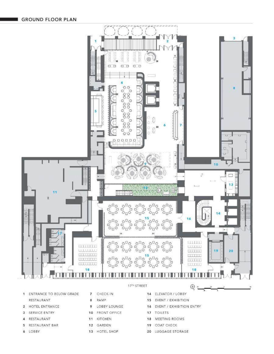 Profiles Of Selected Architects American Architects Com Denah Lantai Arsitektur Hotel Hotel