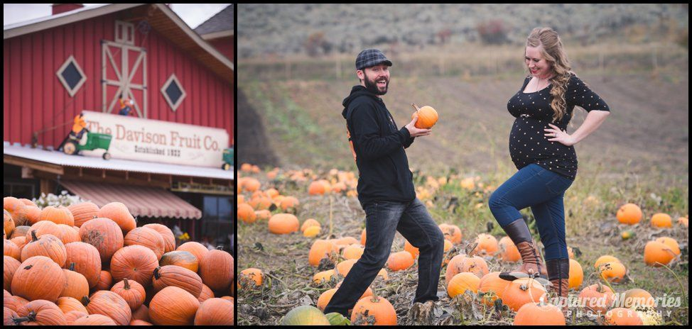 Fall Orchard Maternity Session