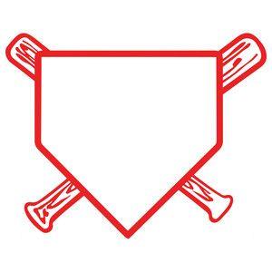 8e2aa2a5ab32100a6c6fb06fd0969d1b baseball home plate stencils pinterest silhouette design,Home Plate Design