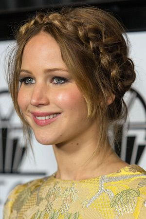 Best festival hairstyles How to do a halo braid the messy side