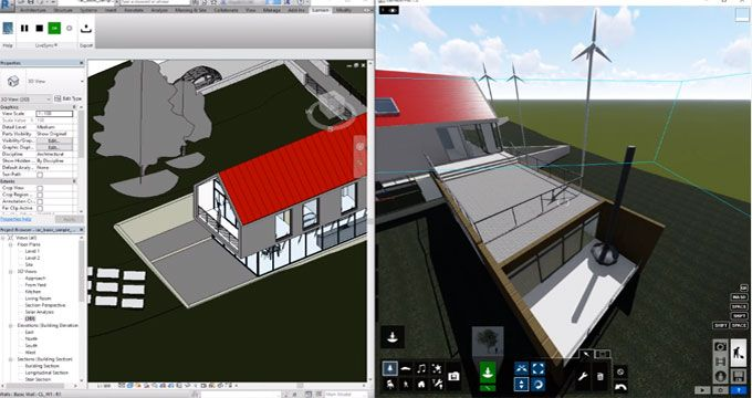 This Revit Video Tutorial Demonstrates Livesync Feature Available In Lumion Plugin For Revit To View The Building Information Modeling Plugins Videos Tutorial