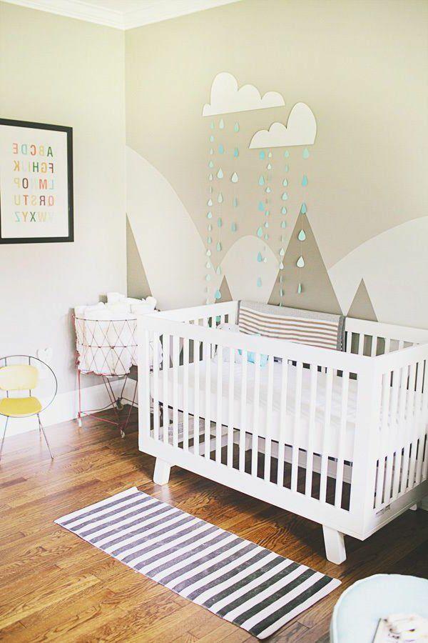 Wohnen, Tapezieren, Wandgestaltung, Raum, Dekoration, Babyzimmer Themen,  Baby Jungenzimmer, Baby Schlafzimmer, Kinderzimmer, Kinderzimmer Deko, ...