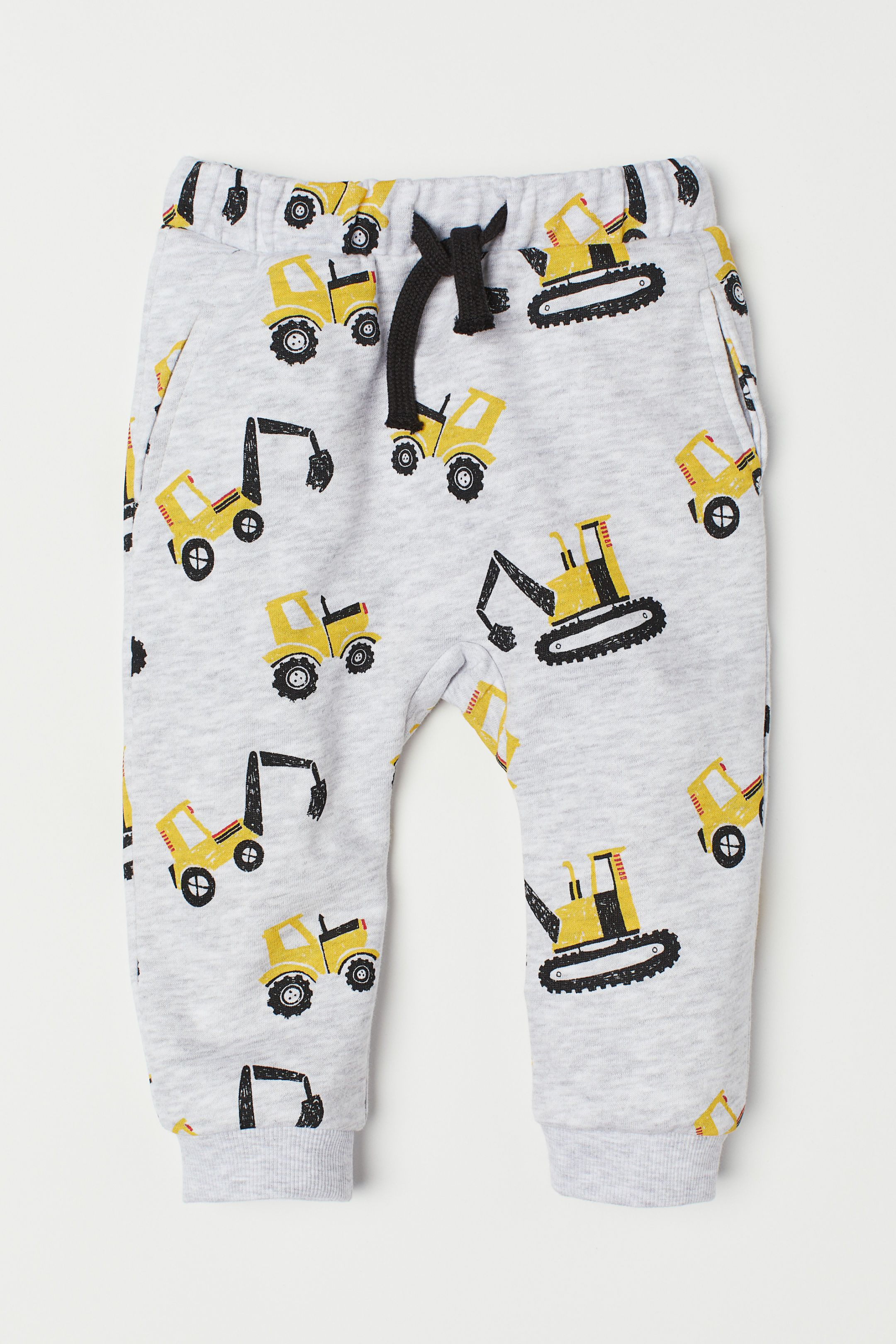 13214c20d77e H&M Joggers - Gray | APPAREL-BABY | Baby boy outfits, Baby boy dress ...