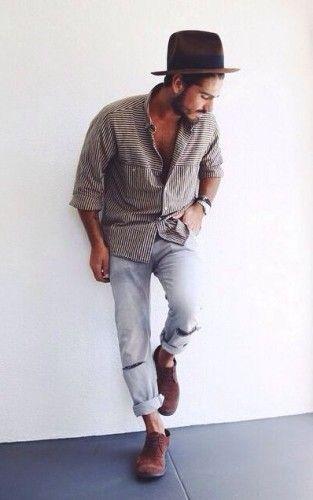 bohemian style kleding mannen