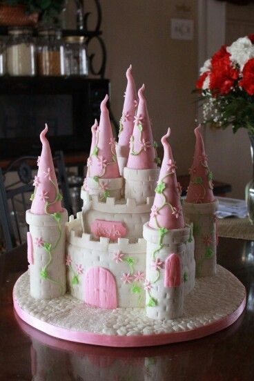 Too much fondant but a great shape/design