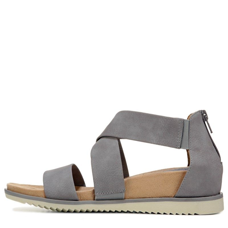 2bab00dd791 Eurosoft Women s Landry Sandals (Grey) - 11.0 M
