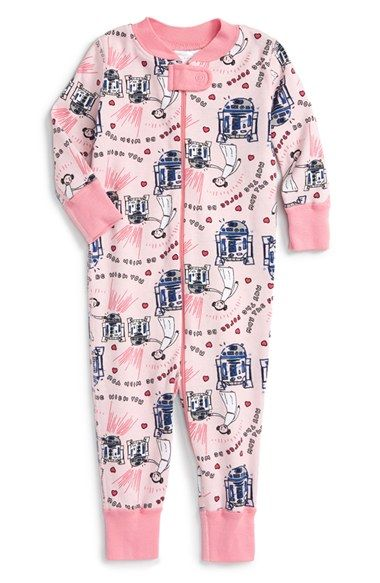 Hanna Andersson U0027Star Wars   Valentineu0027s Dayu0027 Organic Cotton Pajamas (Baby  Girls) Available At