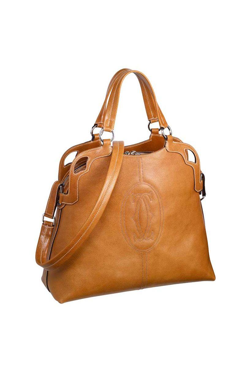 d203655ae52 Bolso de Cartier   color camel para el otoño Refugios
