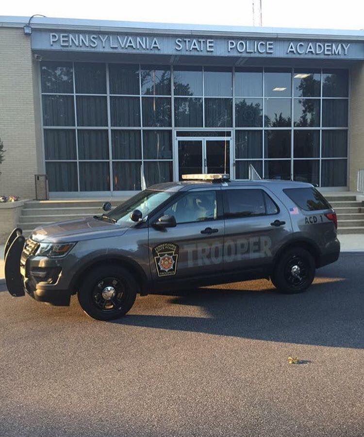 Pennsylvania Pennsylvania State Police Ford Police Utility Interceptor New Grey Color Design State Police Ford Police Police