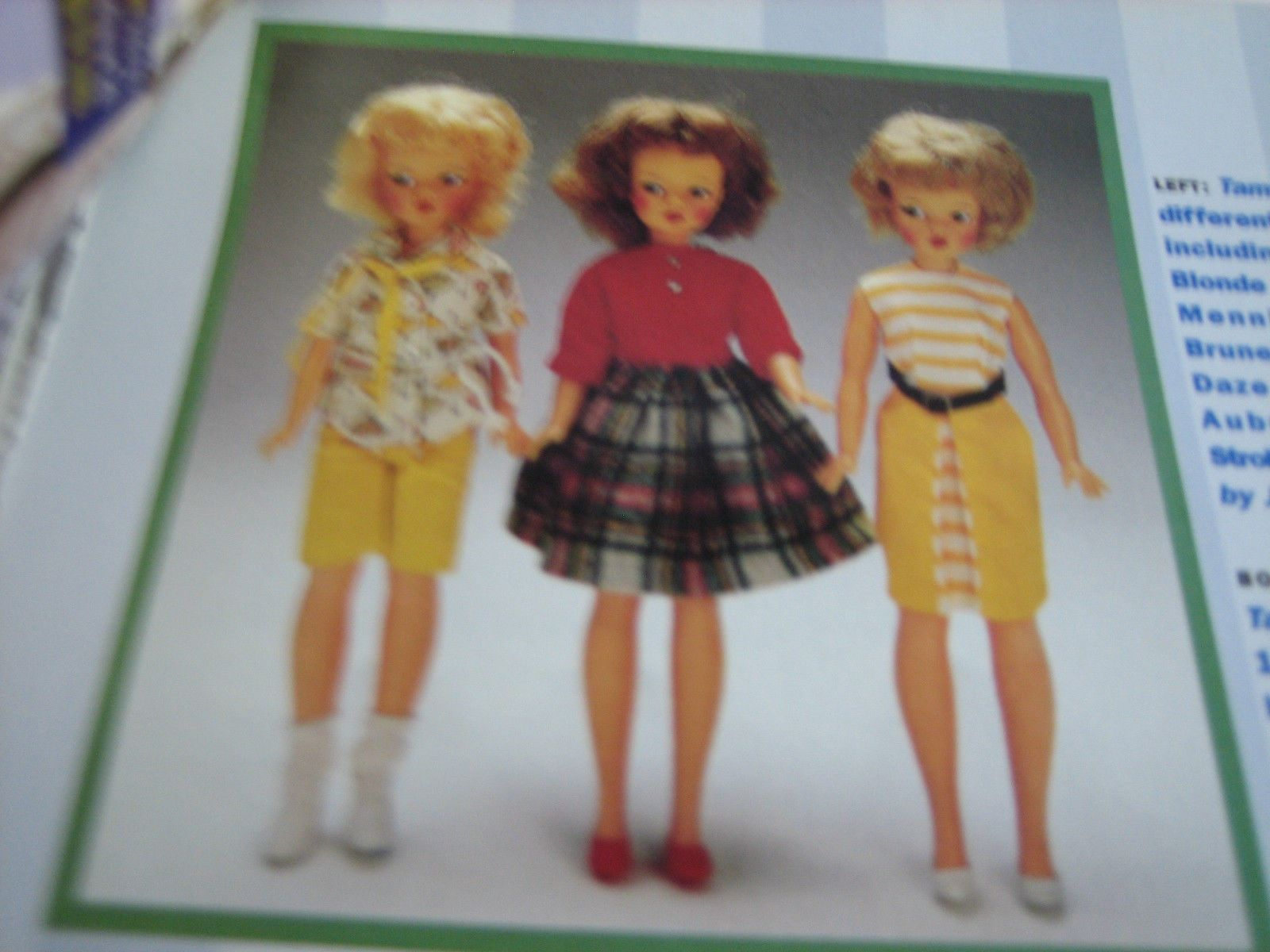 3pg Ideal Tammy Doll Article Tammy Doll You Love to Dress Judith Izen | eBay