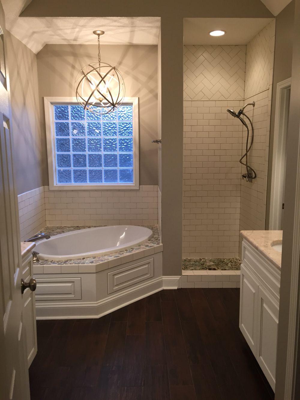 Shower room floor master bath shower room