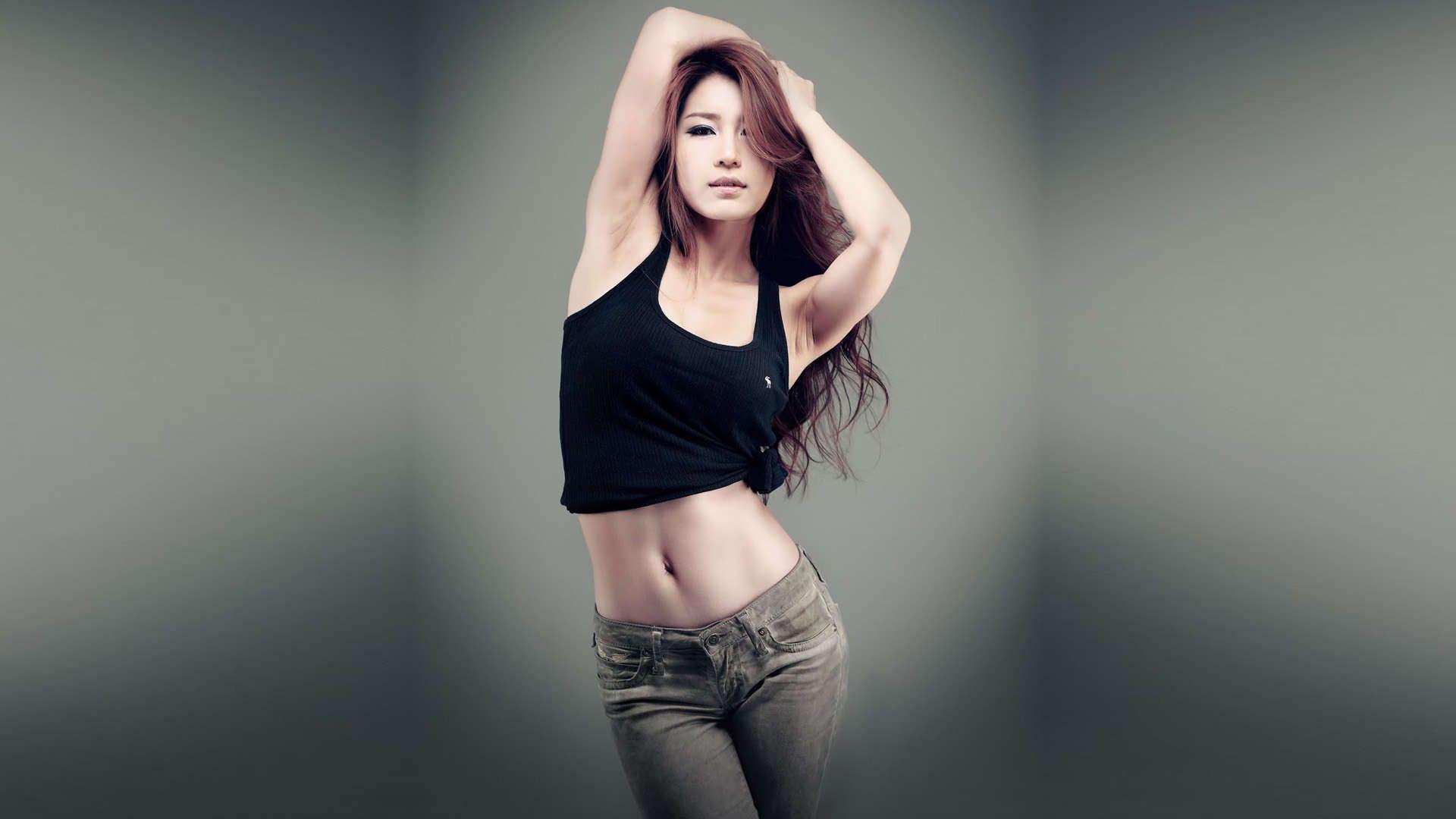 Beautiful Korean Girls Hd Wallpapers 1080p Crop Top Fashion Crop Tops Women Fashion