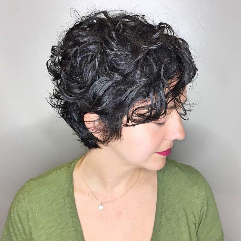 19 Erstaunliche Kurze Gewellte Frisuren Ideen Curly Hair Styles Naturally Curly Hair Photos Short Hair Styles