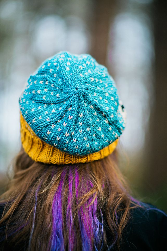 The beautiful crown decreases on Baa-ble | Hat Knitting Patterns ...
